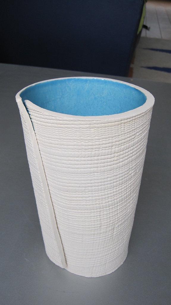 Wrap Vase Blue