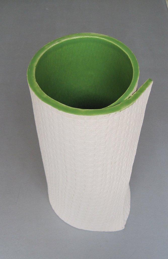 Wrap Vase Green